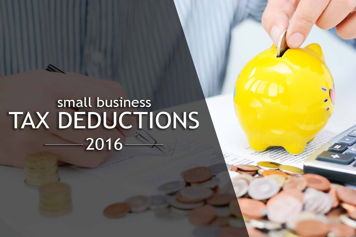 small business tax deductions for 2016