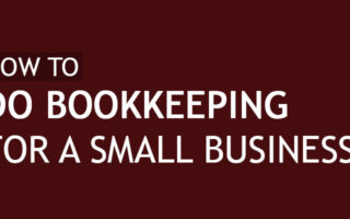how to do bookkeeping for a small business